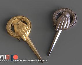 3D print model GOT - Hand of the King - Queen Pin STL