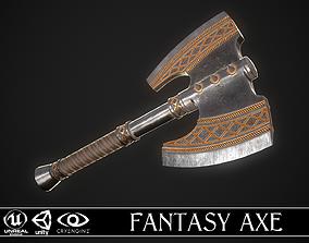 Fantasy Axe 2C 3D model