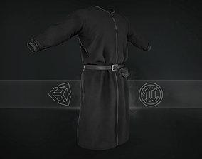 3D model Black Medieval Top