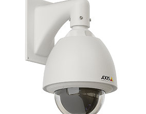Dome security camera 3D model
