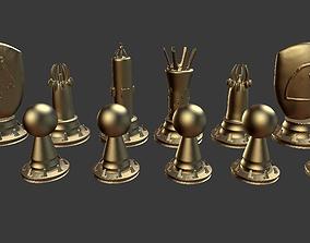 rook Chess set 3D printable model