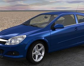 3D Opel Astra