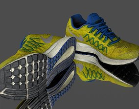 3D asset low-poly Pair of sport shoes