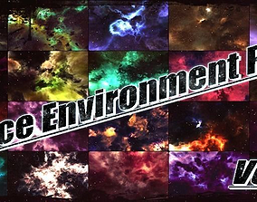 Space Environment Pack Vol-1 3D model