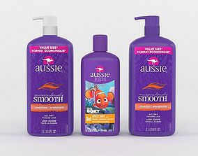 Aussie Shampoo and Conditioner 3D model
