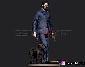 Keanu Reeves - John Wick dc 3D printable model