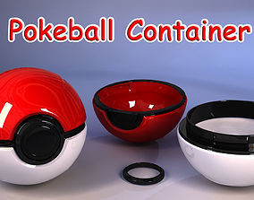 3D print model Pokeball container