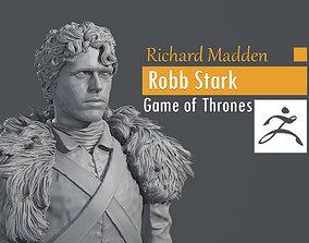 3D printable model Richard Madden - Robb Stark - Game of