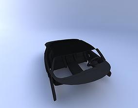 1999 Dodge Viper Interior 3D model