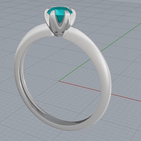 Ring Tiffany 3D file