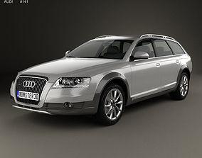3D Audi A6 C6 Allroad 2006
