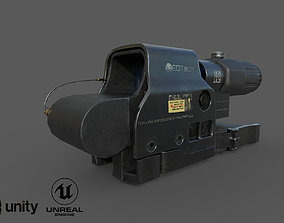 EOTech HHS II 3D model low-poly