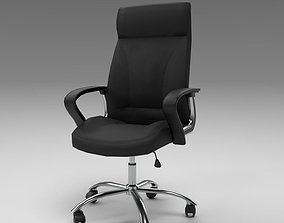 3D model Office Chair Black