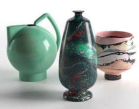 3D Sediment Vases