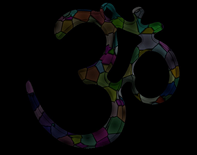 3D asset Simple Om