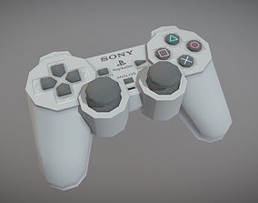 PlayStation Analog Controller 3D model