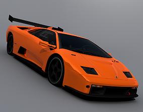 1999 Lamborghini Diablo GTR 3D