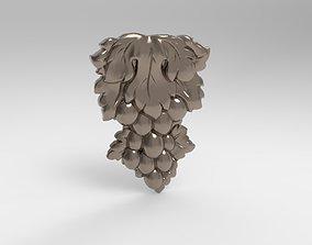 grape 3D print model sculpture 3d