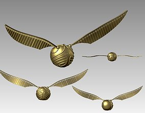Golden Snitch from Harry Potter 3D printable model