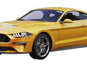 Ford Mustang GT 2020 3D