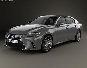 Lexus GS 2015 3D