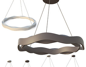 3D asset Luminaire Leds-C4 Hello