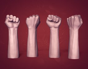 3D asset Hand Figurine -- Ready for 3D Printing