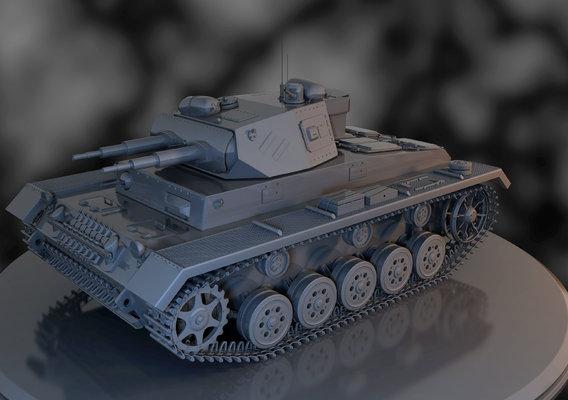 Modified Panzer Tank