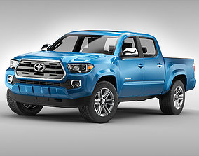 3D model Toyota Tacoma 2016