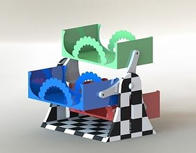 CD stand 3D model