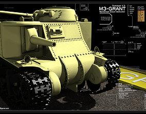 M3-Grant 3D model
