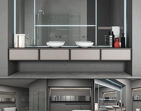 3D model antoniolupi Bathroom furniture set Bespoke 5