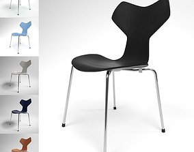 Fritz Hansen Grand Prix Chair Blender Cycles 3D