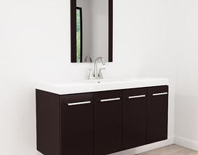 3D Floating Bathroom Vanity