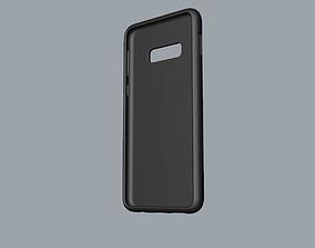 Samsung Galaxy S10e black rubber case 3D printable model