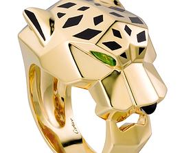 RING PANTHERE DE CARTIER 170 3D print model