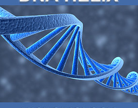 science DNA Helix 3D