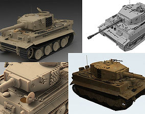 3D Tiger I Early and Late Production Bundle