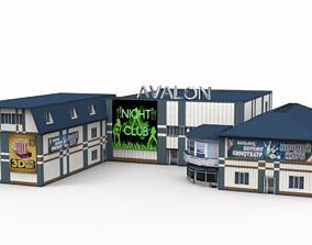 Night club 3D model