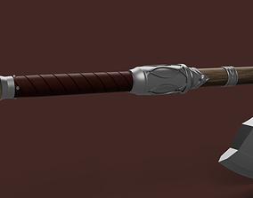 Assassins Creed Valhalla Wolf axe 3D print model