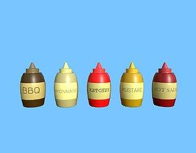 Sauce 3D asset
