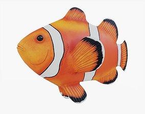 3D model Clown Fish Animated