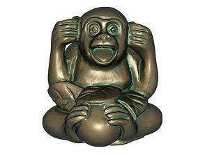 3D print model Monkey