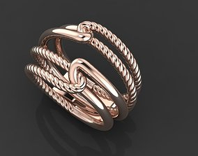 3D printable model ROPE RING new