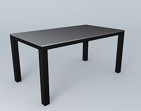 ESCALE table houses the world 3D model