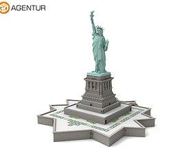Statue of Liberty New York 3D model