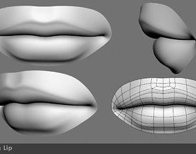 Lip female 3D model
