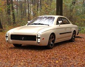 Affekta 300 Old timer concept car best of 3D asset 3