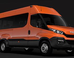3D model Iveco Daily Minibus L3H2 2014-2016