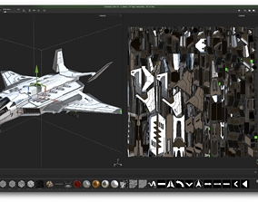 Jet Fighter - Source Files Attached 3D model